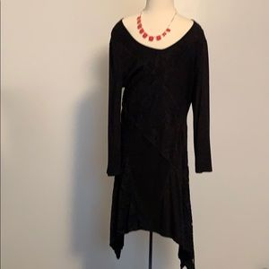 Cable & Gauge black dress brand new with tags